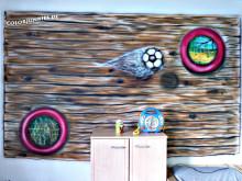 Wandbild Jungenzimmer Gesamt